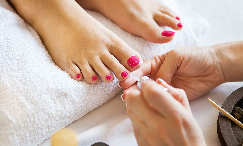 Pedicure at Beauty & Complimentary  				Health
